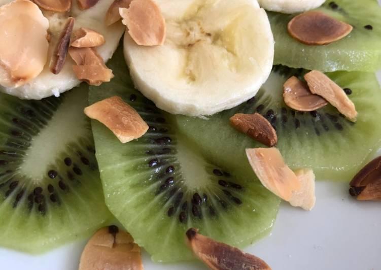 Carpaccio kiwi-banane