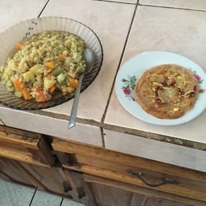 Kitri integral con tortilla integral