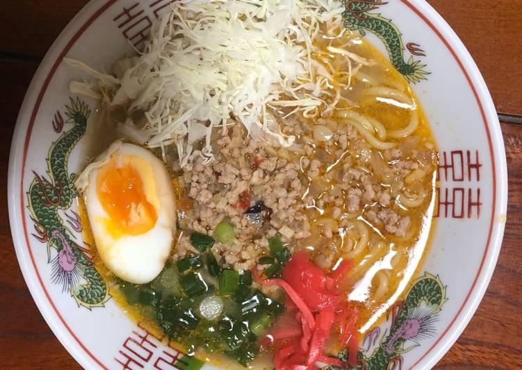 Easiest Way to Make Delicious Miso Ramen