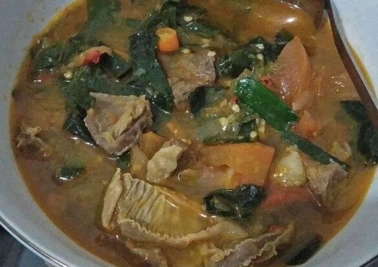 Tongseng daging kambing kuah tomyam