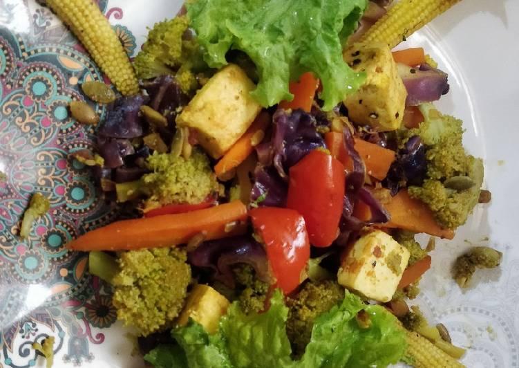 Easiest Way to Prepare Yummy Healthy vegetable salad