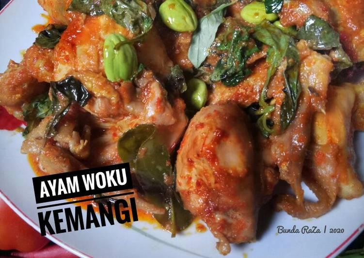 Ayam Woku Kemangi Manado
