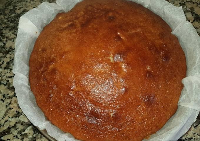 Gâteau au yaourt aux poires