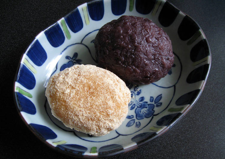 Consume These 14 Superfoods to Go Green for Better Health, Ohagi (Bota Mochi)