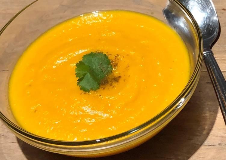 Comment Préparer Des Soupe de carottes