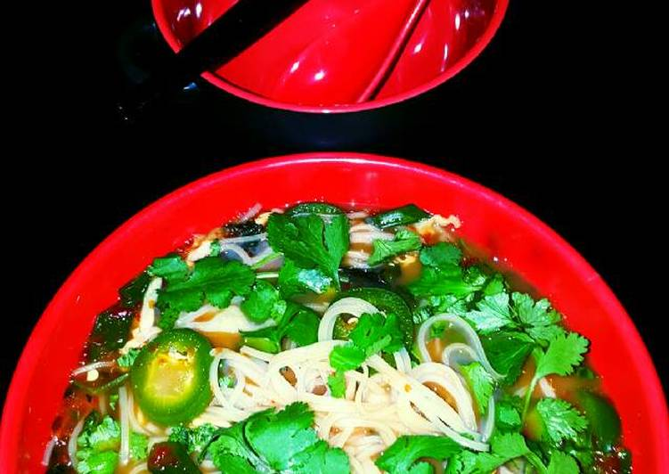 Mike's Spicy Thai Breakfast Noodles