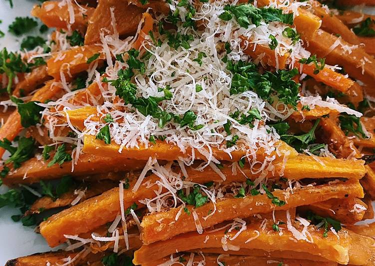 Baked sweet potato 🍠 fries !