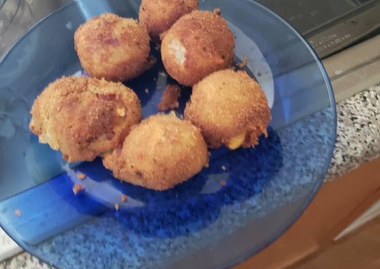 Recipe: Perfect Cheesy potato poppers