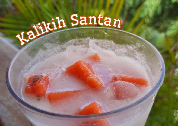 Kalikih Santan (Khas Minang)