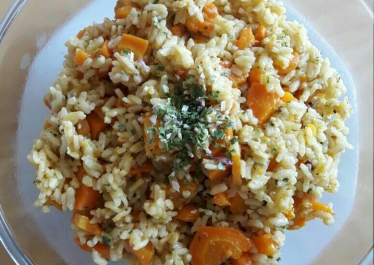 Riz carottes sésame