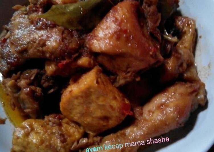 Resep Ayam Kecap Tahu Oleh Thiwa Hartono Cookpad