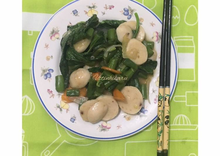 56. Tumis Sayuran Sehat Anti Gemuk