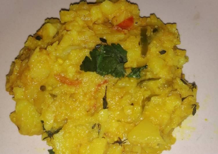 Recipe: Delicious Potato Curry Samoosa Filling