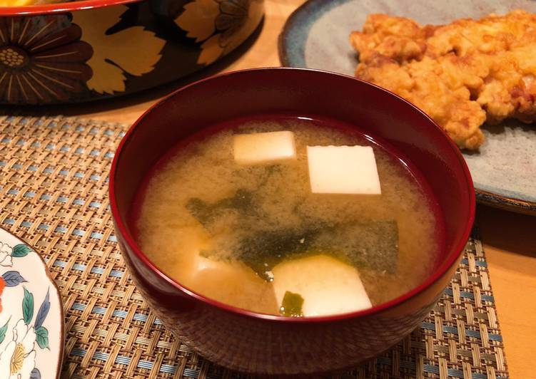 Japanese Classic Miso Soup with Tofu, Here Are Several Simple Explanations Why Consuming Apples Is Good