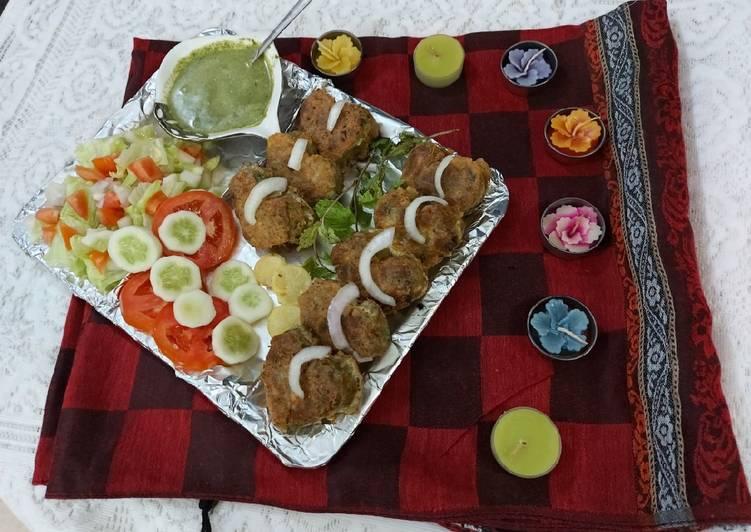 Chicken tikka shami kababs