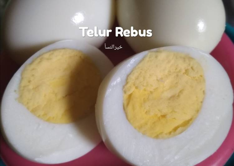 56 Telur Rebus Hemat Gas Matang Sempurna Enak