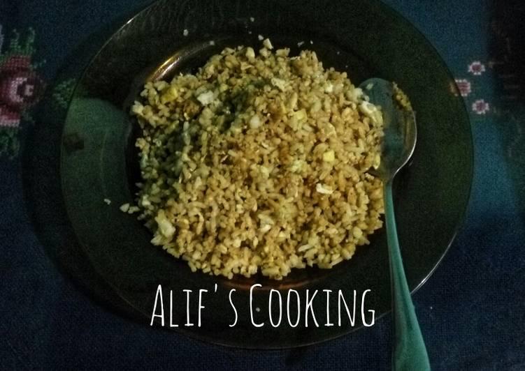 Nasi goreng ala Alif