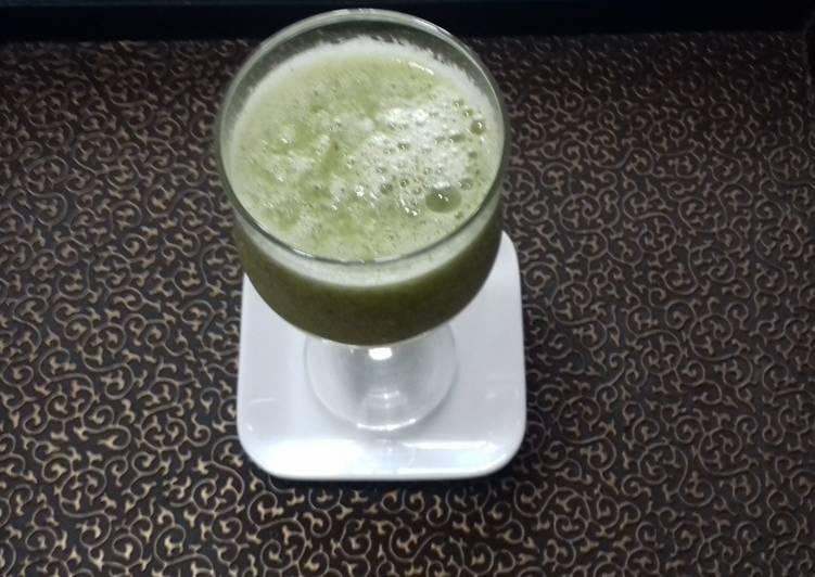 Fresh Kiwifruit Juice with Lemon,No Sugar
