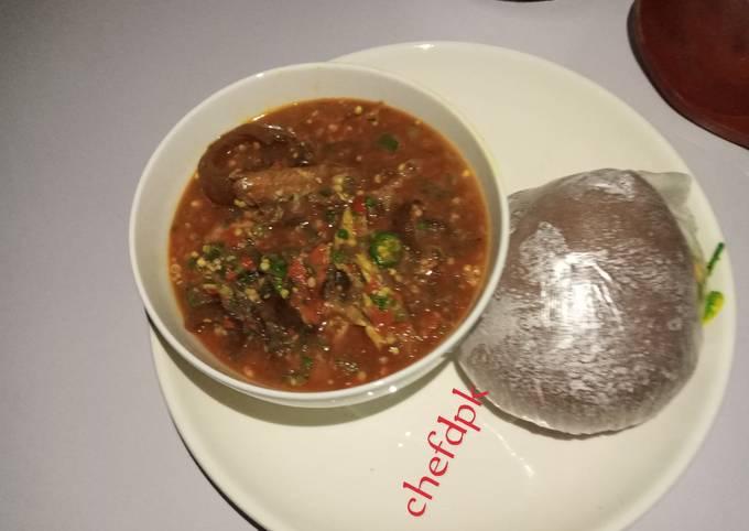 Okro pepper soup (Ila alasepo)
