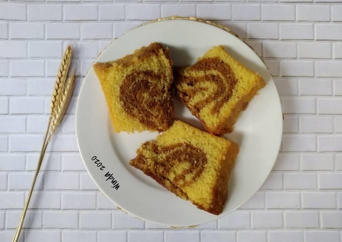 Sponge Cake ala Marmer JTT (irit telur)