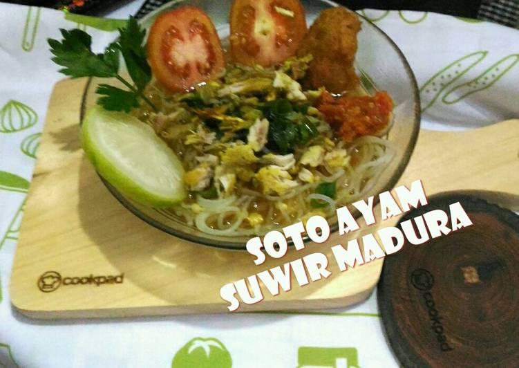 Soto Ayam Suwir 😊 Madura