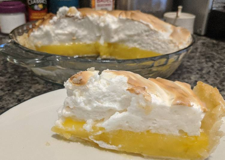 Recipe: Tasty Lemon Meringue Pie