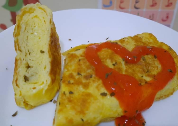 8. Telur Gulung Simpel