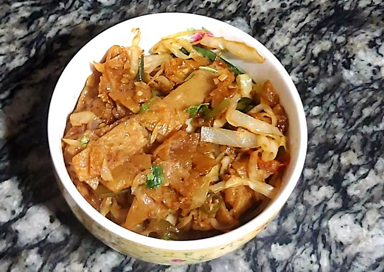 Masaledar chapati noodles