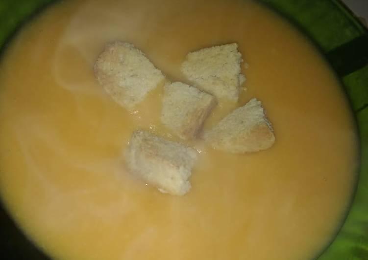 Sopa crema & Croûtons 😍