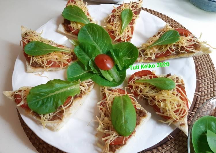 Resep Canape Bread Minced Beef Oleh Tuti Keiko Cookpad