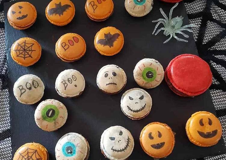 Nos 9 Meilleures Recettes de Macarons Halloween
