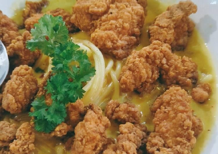 Buttermilk spagethi & Chicken pop