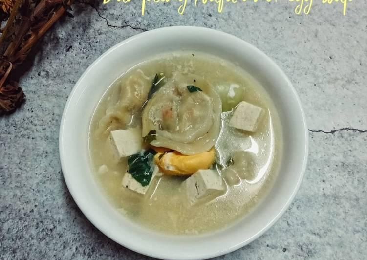 Sup Dumpling Tauhu dan Telur - velavinkabakery.com