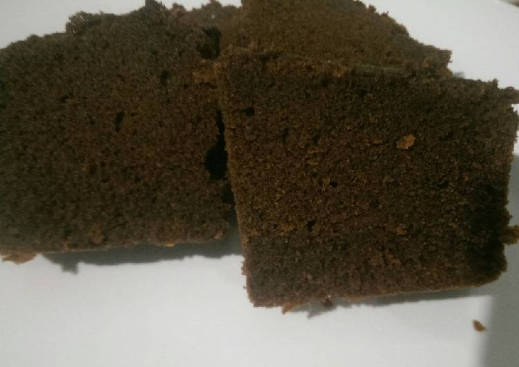 Brownies Coklat Bubuk JTT 2 Telur Lembut (Banget!)