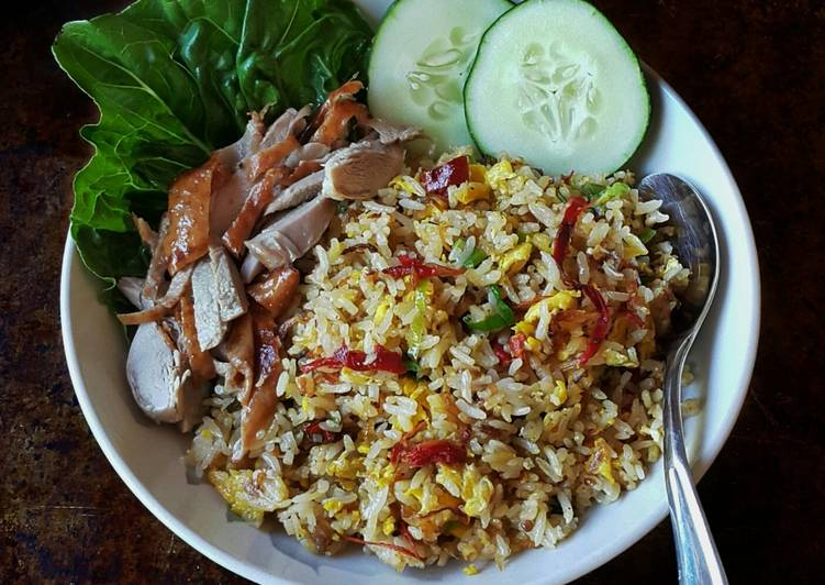 Recipe of Favorite Dried Shrimp/Anchovy Fried Rice