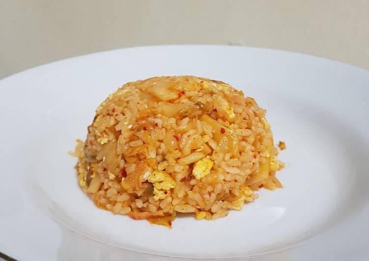 Cara Membuat Nasi Goreng Kimchi ala Chen ekonomis untuk jualan