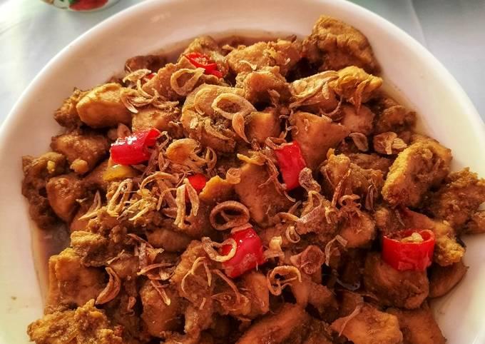 Sate Goreng Ayam