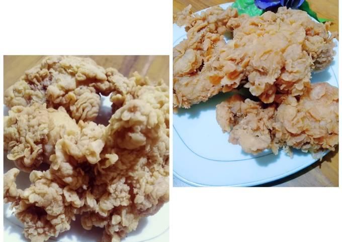 Langkah Mudah untuk Menyiapkan Ayam goreng ala KFC yang Lezat