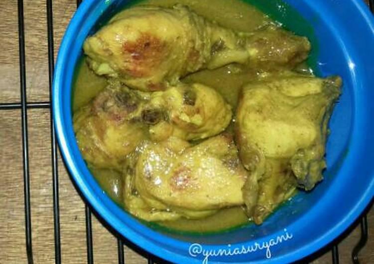 Kari Ayam (tanpa santan)