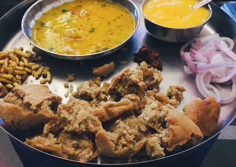 Step-by-Step Guide to Prepare Homemade Bati with Red Lentil