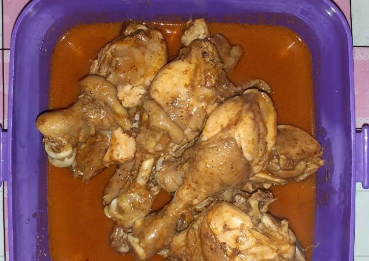 Resep Rendang ayam simple Yang Simple Lezat