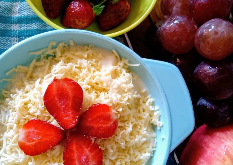 Salad buah nikmat tanpa yogurt