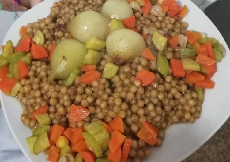 مغربية بالخضار صيامي بالصور من Maryjo s kitchen - كوكباد