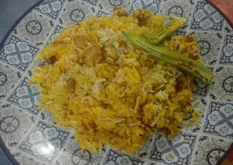Chicken Boneless Handi Biryani