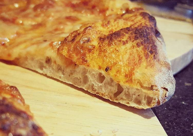 Easiest Way to Make Yummy 48h Pizza Dough