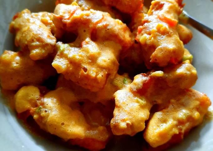 Resep Dori Patin Saus Telur Asin Oleh Sheta Cookpad