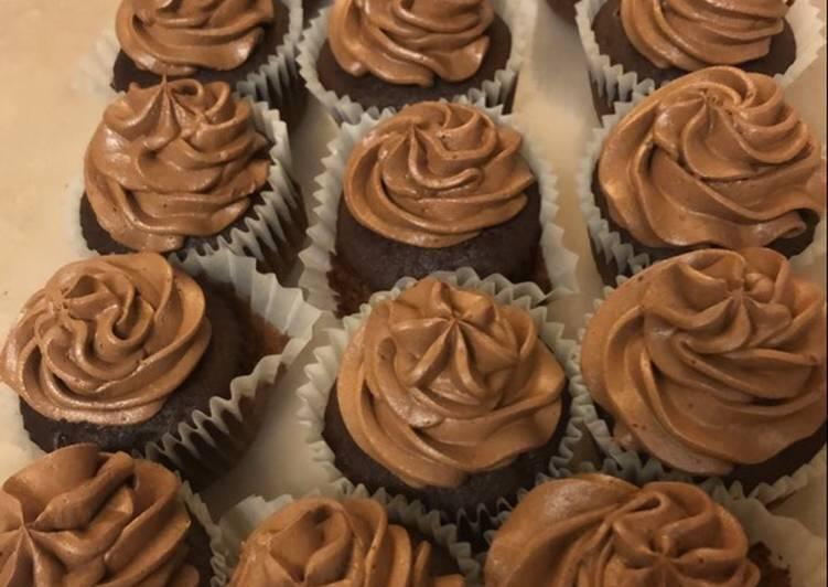 Delicious Chocolate Cupcakes