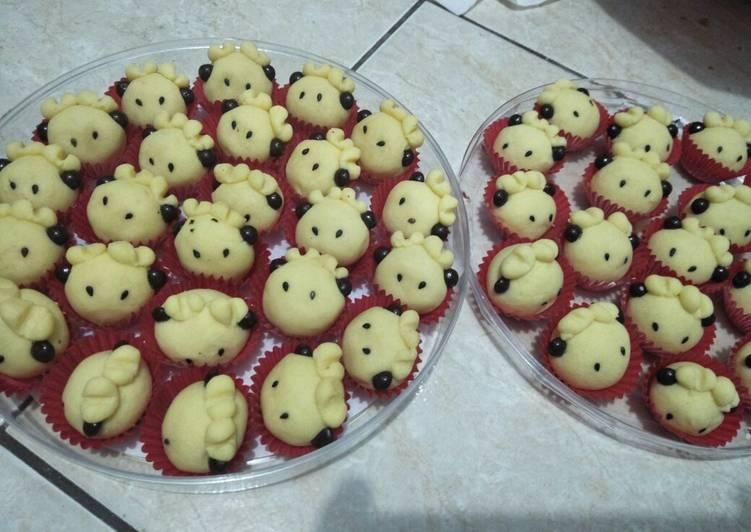 Sheep Cookies #BikinRamadanBerkesan