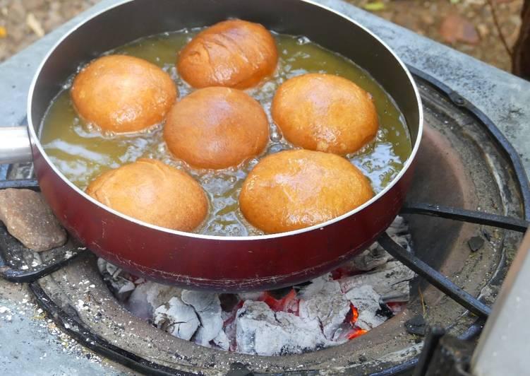 Steps to Prepare Super Quick Homemade Polish donuts! (Pączki)