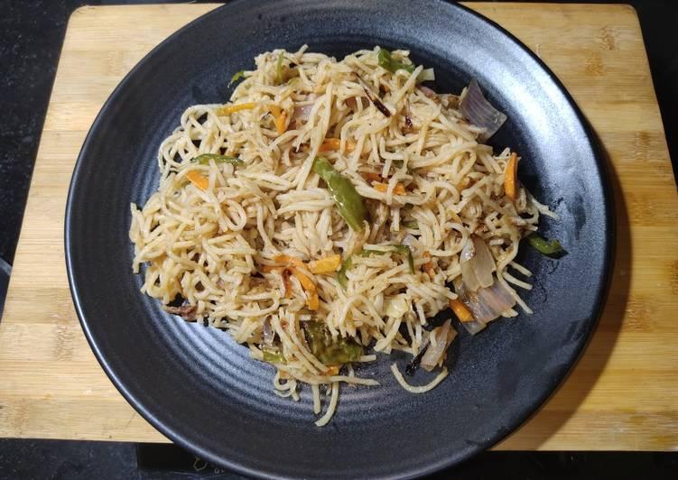 Recipe of Perfect Veg Hakka Noodles